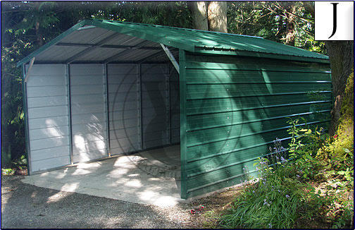 Carport With Sides