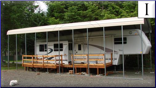 Carports For Camper Trailers : Travel trailer carports innovation pixelmari